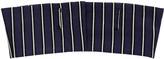 Haider Ackermann Striped Cotton Blend Canvas Wide Belt