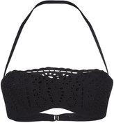 Ermanno Scervino lace bandeau bikini top - women - Polyamide/Spandex/Elastane - I