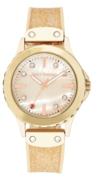 Juicy Couture Woman's Juicy Couture, 1012RMLP Silicon Strap Watch