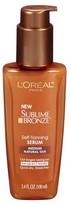 L'Oréal® Paris Sublime Bronze Self-Tanning Serum Medium Natural Tan 3.4 Fl Oz