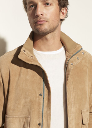 Vince Suede Bomber