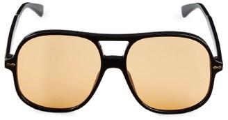 Gucci 58MM Pilot Sunglasses