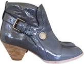 Marc Jacobs Gray varnished boots