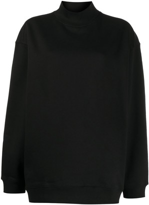 Filippa K Soft Sport Oversized Mock-Neck Sweatshirt