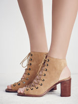 Free People Minimal Lace Up Heel