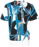 Marni abstract print t-shirt - men - Cotton - 48