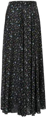 Zadig & Voltaire Zadig&Voltaire floral maxi skirt