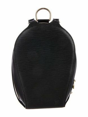 Louis Vuitton Epi Mabillon Backpack Black