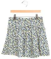 Tartine et Chocolat Girls' Printed Circle Skirt
