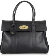 Bayswater textured-leather bag