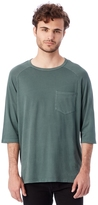 Alternative Brushed & Garment Dyed Pocket Baseball T-Shirt