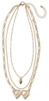 BP Women's West Coast Layered Pendant Necklace