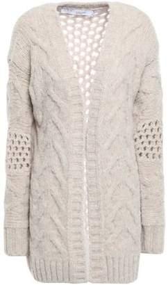 IRO Open-knit Wool-blend Cardigan