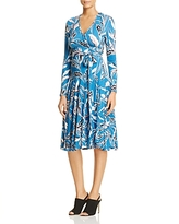 Yumi Kim Around Town Floral Midi Wrap Dress