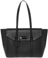 Mackage Barton Fold-Over Flap Tote In Black