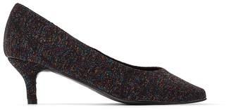 La Redoute Collections Iridescent Heels, Height 4cm