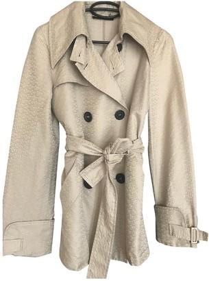 Gucci Beige Cotton Coat for Women