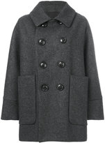 DSQUARED2 double-breasted peacoat
