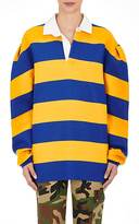 Marc Jacobs Women's Rugby-Striped Jersey Oversized Top