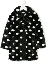 Little Marc Jacobs faux fur coat