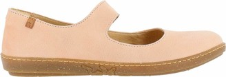 El Naturalista Women's Coral Closed Toe Ballet Flats