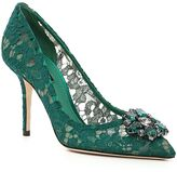 Dolce & Gabbana Rainbow Lace Pumps