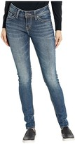Silver Jeans Co. Elyse Mid-Rise Easy Fit Skinny Jeans L03116SJL328 (Indigo) Women's Jeans