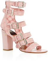 Laurence Dacade Dana Cotton Eyelet Embroidered Sandals