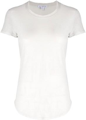 James Perse cotton slim fit T-shirt