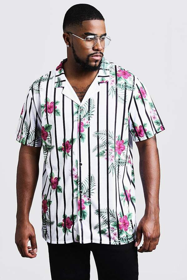 54d9bd7071273b Big & Tall Floral Shirts - ShopStyle