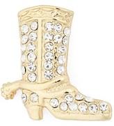 Cara Women's Crystal Cowboy Boot Brooch