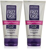 John Frieda Frizz-Ease Straight Fixation Styling Creme - 5 oz - 2 pk