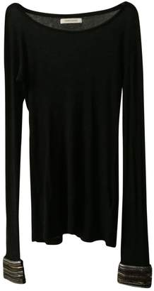 Pierre Balmain Black Cotton Top for Women Vintage
