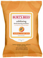 Burt's Bees Exfoliating Facial Cleansing Towelettes Peach and Willow