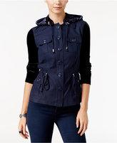 INC International Concepts Velvet Utility Jacket, Only at Macy's