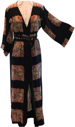 Vilshenko Black Silk Dresses