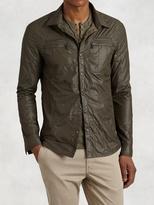 John Varvatos Quilted Shirt-Jacket