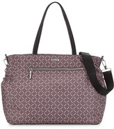Milly Minis Childrenswear Printed Diaper Bag, Gray