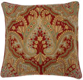 OKA Ambala Paisley Cushion Cover, Embroidered Wool