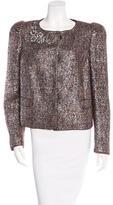 Prada Embellished Wool Jacket