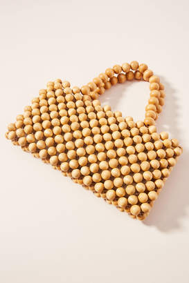 Anthropologie Salome Beaded Clutch