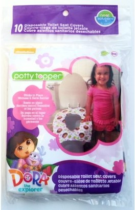 Neat Solutions Eco Potty Topper, Dora the Explorer, 10 Ct