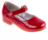 Josmo Red Patent Perforated Mary Jane