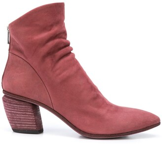 Officine Creative Severine ruched boots