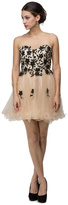 Dancing Queen - Sweetheart Illusion Floral Lace Prom Dress 9103