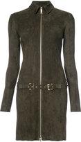 Jitrois zip fastened dress - women - Leather - 38