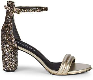 Kenneth Cole New York Lex Metallic Leather Sandals