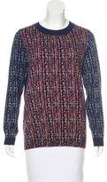 Tory Burch Wool Crew Neck Sweater
