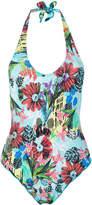 Ermanno Scervino tropical print swimsuit