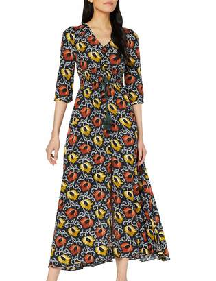 Joe Browns Women's Something Special Dress Blue (Navy Multi (Size:16)